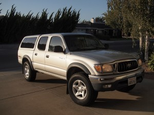 My 2002 Silver Toyota Tacoma